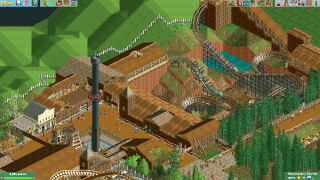 Mine Train and Frontier section